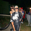 Shayna Taylor Ryan Seacrest And Shayna Taylor Are Seen At The Casamigos Halloween Party In Beverly Hills