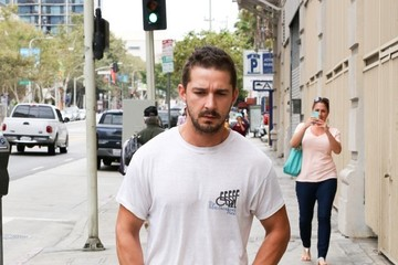 Shia LaBeouf Shia LaBeouf at the ATM