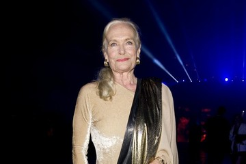 Shirley Eaton Celebs at the 'Skyfall' Afterparty