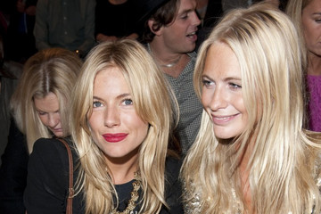 Sienna Miller Sienna Miller and Cat Deeley at LFW