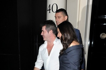 Simon Cowell 'Britain's Got Talent' Judges Out in Mayfair