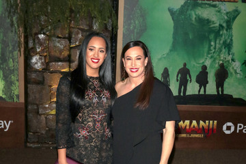 Simone Alexandra Johnson Premiere of Columbia Pictures' 'Jumanji: Welcome to the Jungle'