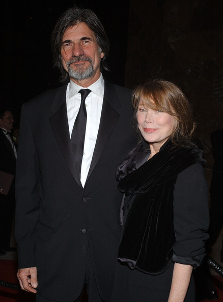 Sissy Spacek with beautiful, Husband Jack Fisk