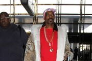 Snoop Dogg Arrives at LAX
