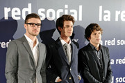 The Social Network photocall.