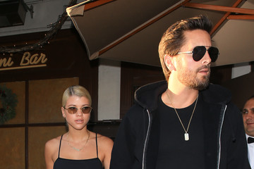Sofia Richie Scott Disick and Sofia Richie out and about..
