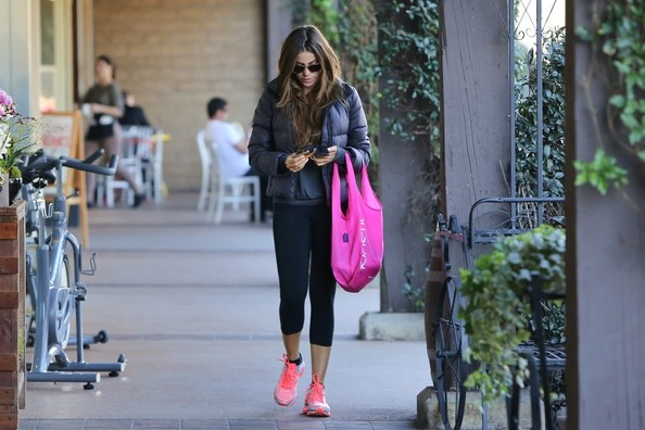 Sofia Vergara at the gym