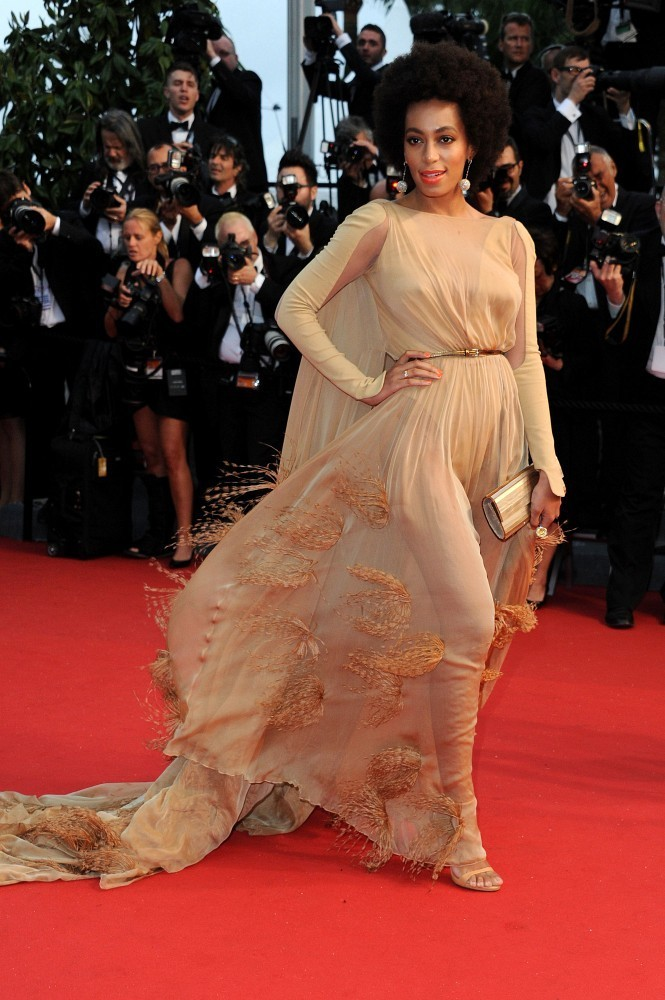 Solange Knowles - Arrivals at the Cannes Opening Ceremony