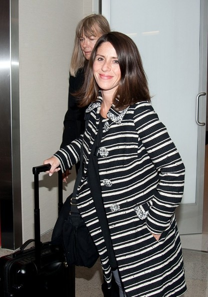 Soleil Moon Frye at the Airport