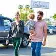 Sonny Rosenman Whitney Port And Tim Rosenman Go Shopping At Gelson's In Studio City