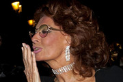 Sophia Loren attends the Giorgio Armani Prive Spring-Summer 2011 Haute Couture fashion show.