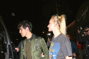 Sophie Turner Joe Jonas And Sophie Turner Are Seen Outside The 'Captain Marvel' Premiere At Dolby Theatre