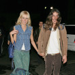 Kimberly Stewart & fiance Cisco Adler Photos