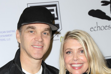 Stacey Toten Celebrities Attend the Luc Robitaille Celebrity Shootout at Toyota Sports Center