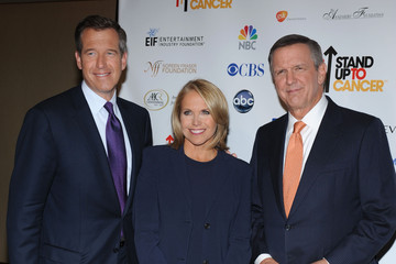 Brian Williams Katie Couric Stand Up To Cancer
