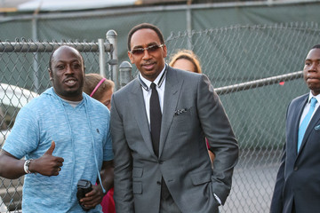 Stephen A. Smith Celebrities Are Seen at 'Jimmy Kimmel Live'