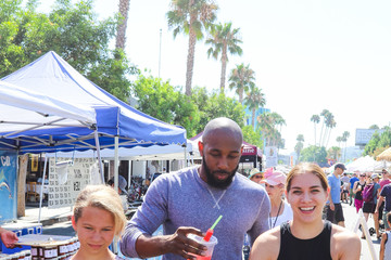 Stephen Boss Stephen 'tWitch' Boss And Allison Holker At The Farmer's Market in L.A.