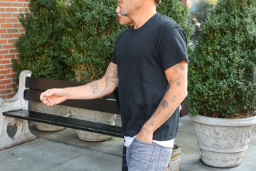 Stephen Dorff Stephen Dorff Has a Casual Day in NY