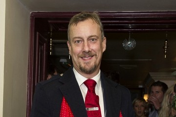 Stephen Tompkinson Spamalot Press Night