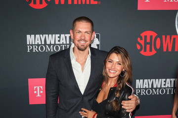 Steve Howey VIP Pre-Fight Party Arrivals on the T-Mobile Magenta Carpet for Mayweather VS McGregor