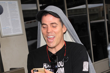 Steve-O Steve O Touches Down at LAX
