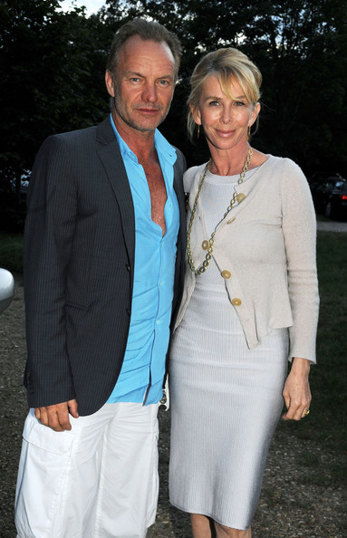 Sting in Sting attends summer party