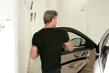 Sylvester Stallone Sylvester Stallone Out in Beverly Hills