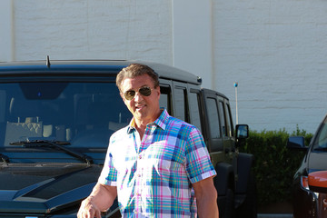 Sylvester Stallone Sylvester Stallone Out and About