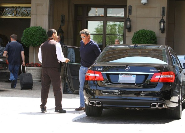 Sylvester Stallone Spotted In Beverly Hills 1 Of 13 Zimbio