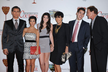 Kris Jenner Scott Disick Taste of Beverly Hills