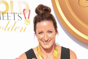Tatyana Mcfadden GOLD MEETS GOLDEN: The 5th Anniversary Refreshed by Coca-Cola, Globes Weekend Gets Sporty with Athletic Royalty