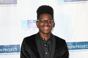 Kamil McFadden is seen arriving at The Teen Project's Hollywood Red Carpet Event at TCL Chinese 6 Theatre.