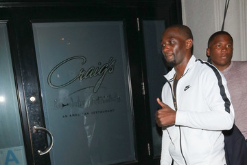 Terence Crawford Terence Crawford Is Seen Outside Craig's Restaurant In West Hollywood