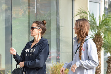 Teri Hatcher Teri Hatcher and Her Daughter Emerson Are Seen Out in L.A.