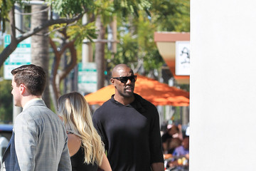 Terrell Owens Celebrities Are Seen Out in Beverly Hills