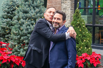 Terry Dubrow Paul Nassif Arrives To 'EXTRA'