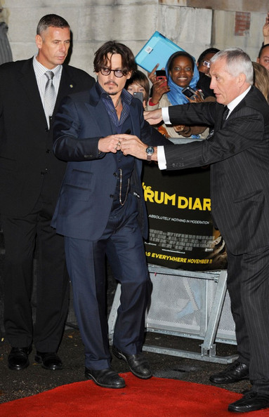 'The Rum Diary' UK premiere