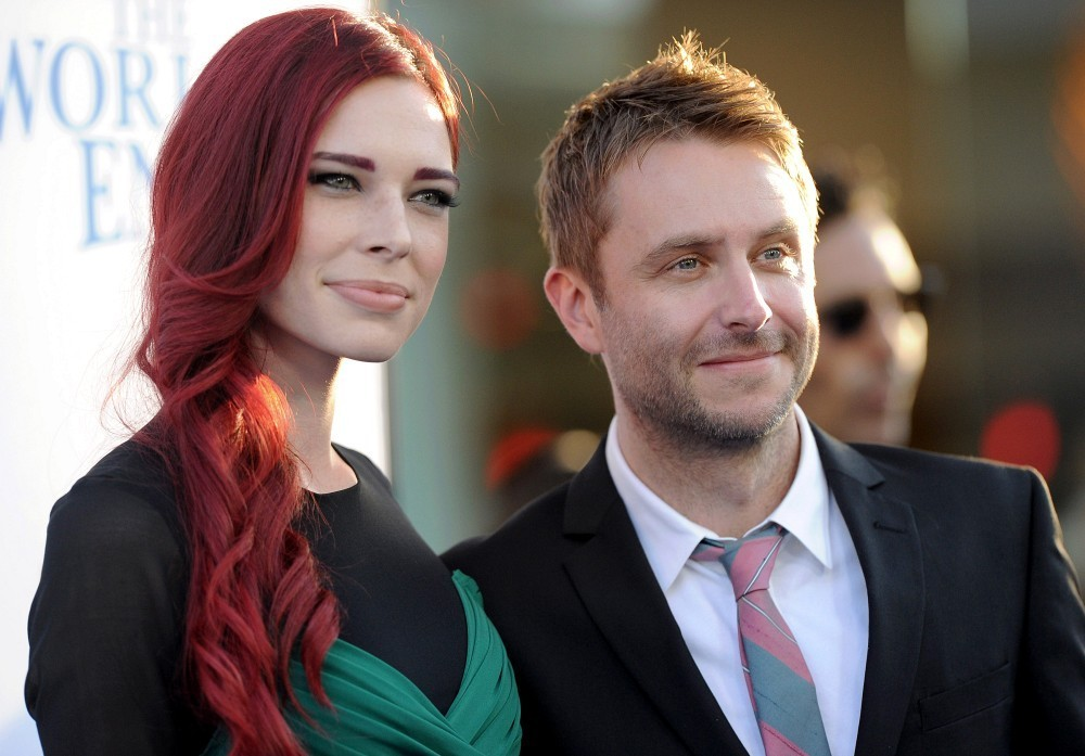 Jacinda barrett and chris hardwick