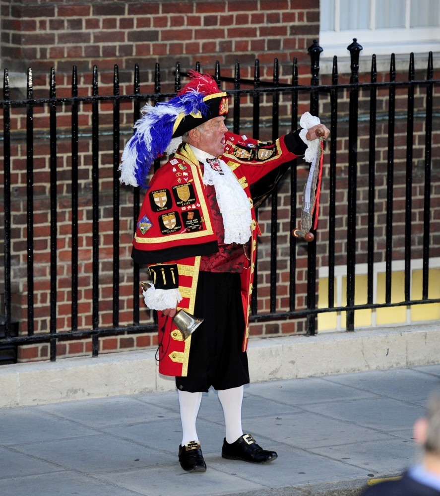 Royal Baby's Birth Announced In London