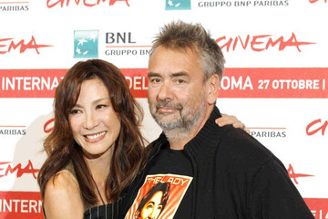 """Michelle Yeoh Luc Besson """"The Lady"""" premieres in Rome"""