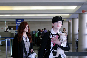 Aimee Osbourne The Osbournes at LAX
