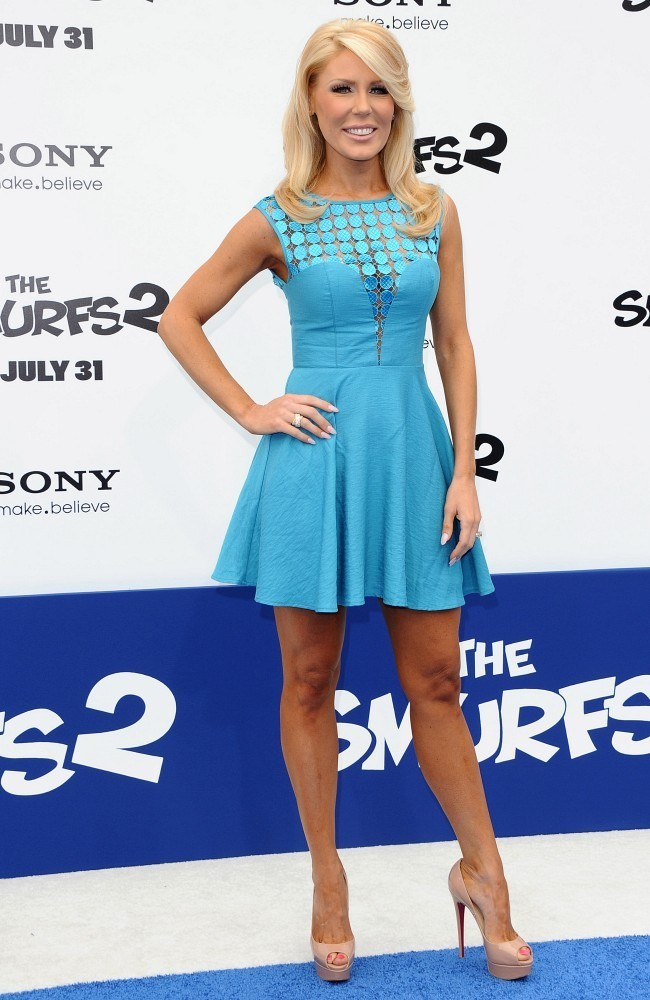 gretchen rossi photos photos quotthe smurfs 2quot premiere