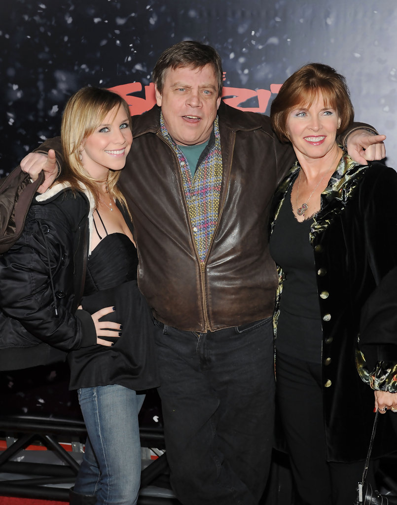 Mark Hamill And Marilou York At The 'star Wars: The Force Awakens ...