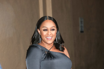 Tia Mowry Tia Mowry-Hardrict Is Seen Outside Sony Theatre In Culver City