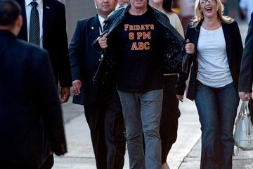 Tim Allen Tim Allen Heads to 'Jimmy Kimmel Live!' — Part 2