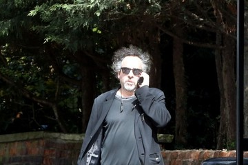 Tim Burton Tim Burton Goes for a Stroll