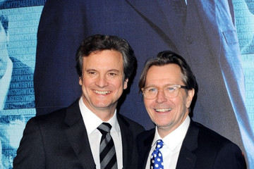 Gary Oldman Colin Firth 'Tinker Tailor Soldier Spy' Paris premiere