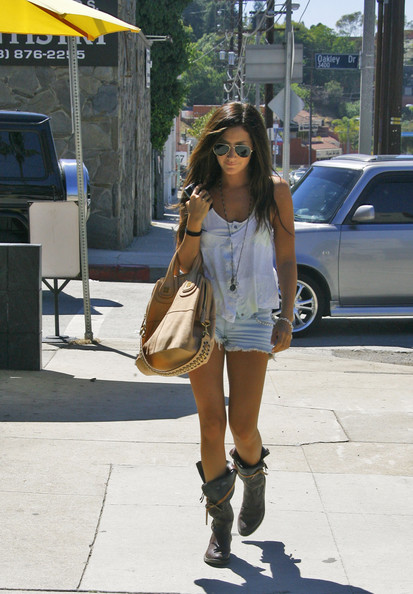 Super Short Cutoffs http://www.zimbio.com/pictures/7JZ7BKpyqbW/Tisdale+wears+short+shorts/Qo_A8bOQVbG/Ashley+Tisdale