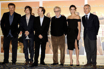 Woody Allen Jesse Eisenberg The Photocall for 'To Rome' in Italy
