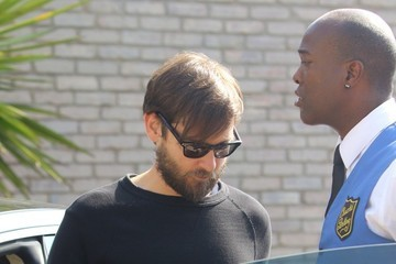 Tobey Maguire Arrivals and Departures at Joel Silver's Beach Party